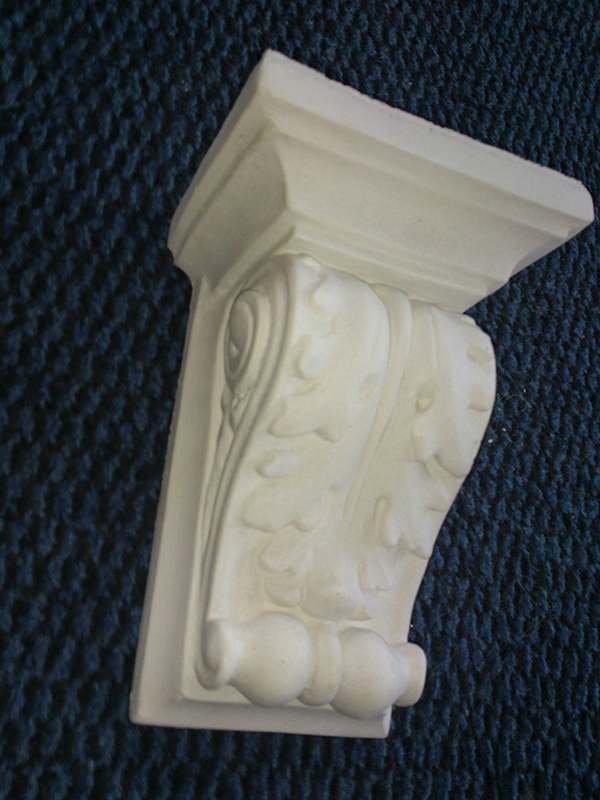 detailed small stucco panel height 17.5 cm