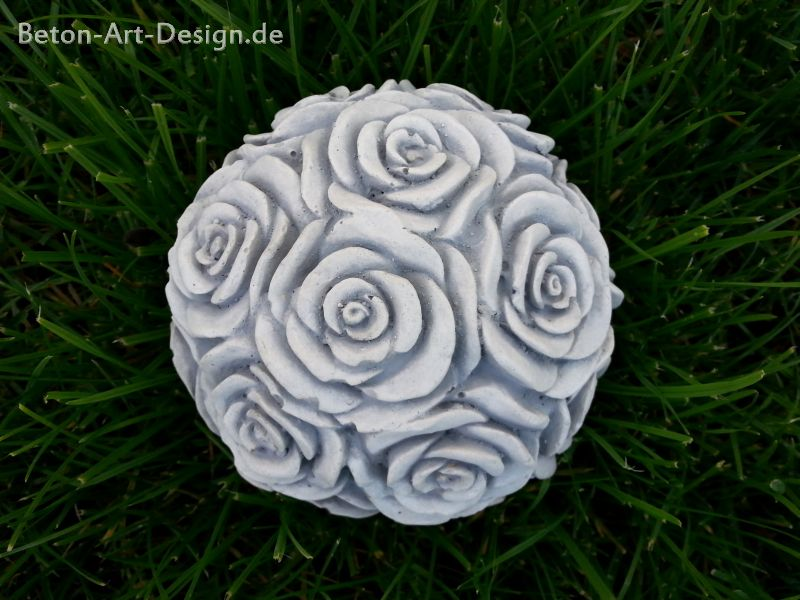 "Table decoration / garden decorations ""Rose Ball"" Ø 11 cm"