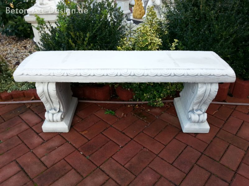"just garden bench decorative ""leaf"" 130 cm wide"