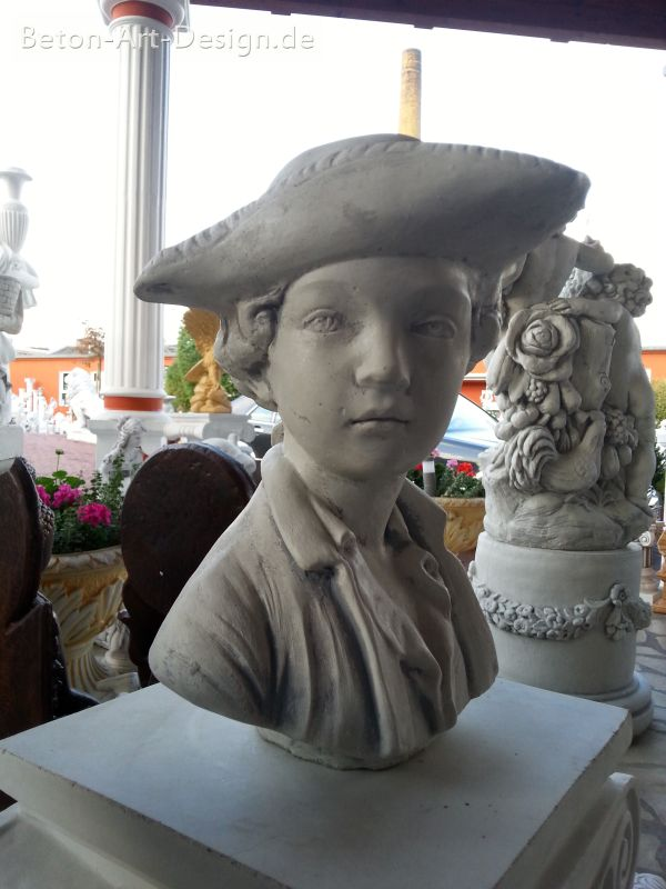"beautiful bust ""Boy with Hat"" 31 cm - 11 kg"