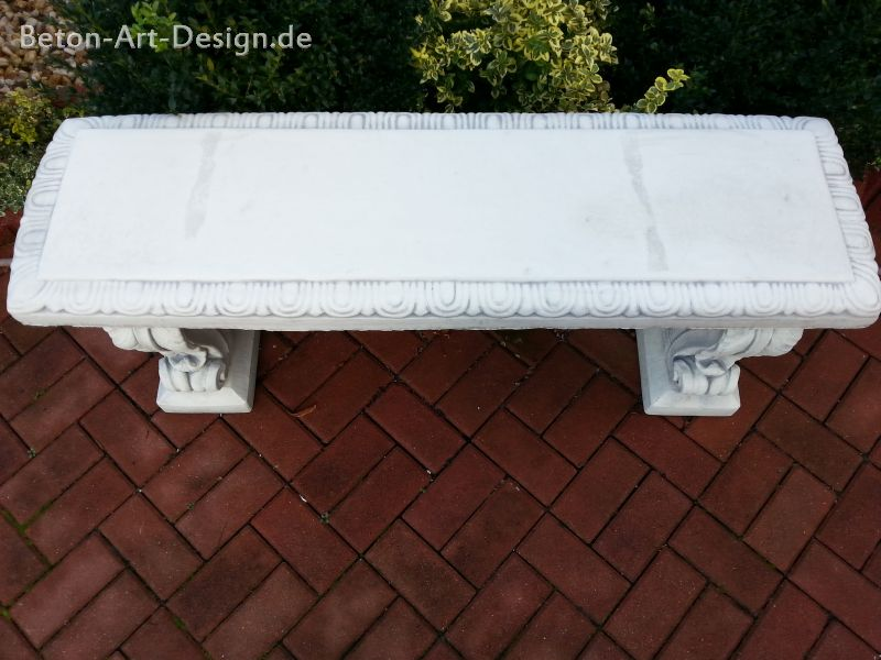 "just garden bench decorative ""fish"" 130 cm wide"