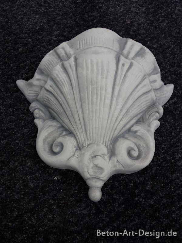"beautiful wall lamp / wall lamp ""Shell"""