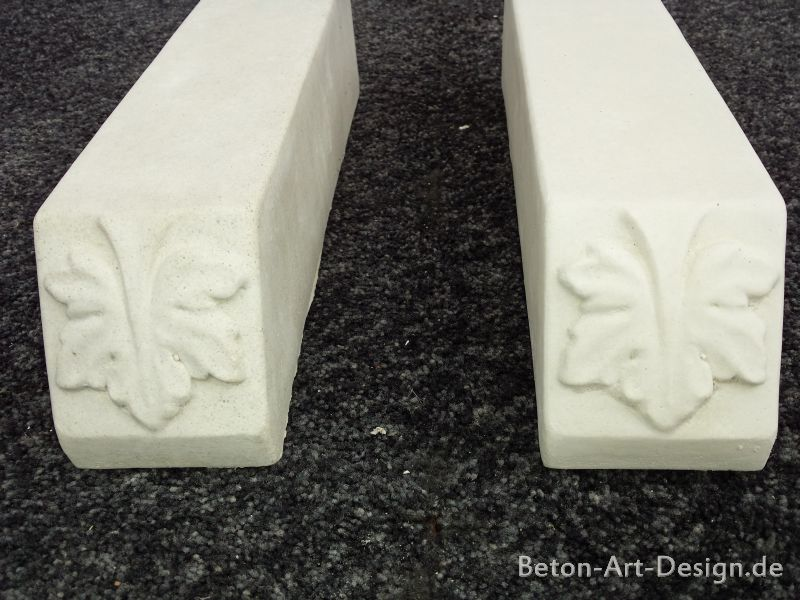 2 pcs. Etc. Feet / plinth stones for planter