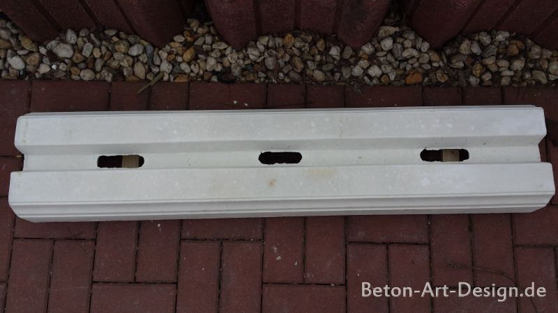 Foot rail for Balustrade 117 cm cuttable