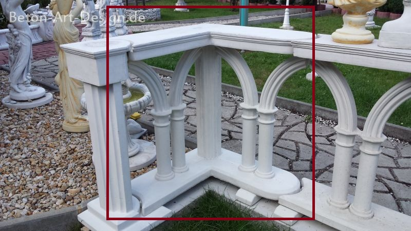 "great fence corner element ""Gothic Arches"""