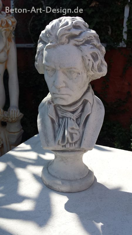"decorative bust ""Beethoven"" 43 cm high"