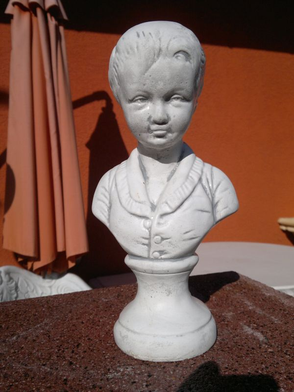 "very stylish ""boy bust"" Height 29.5 cm"