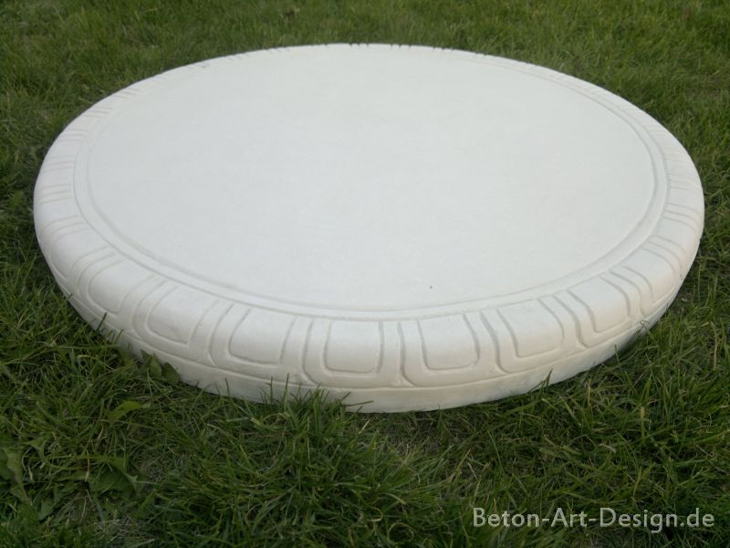 Decorative panel / round table top versatile