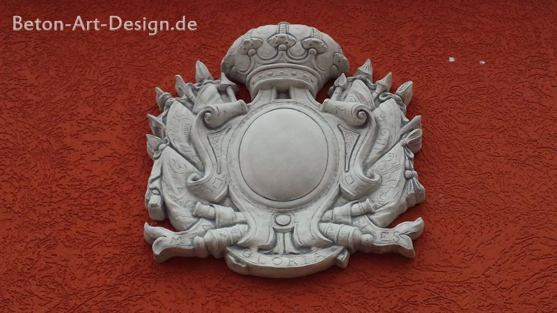 gorgeous mural crest 88 cm high