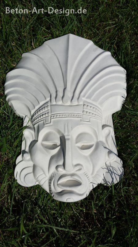 "Mural decorative image ""mask"" 5 Kg - gift idea!"