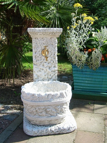 beautiful wall fountain 2 pieces 75 cm high