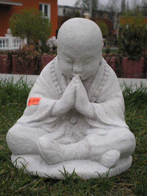 pretty boy praying Buddha