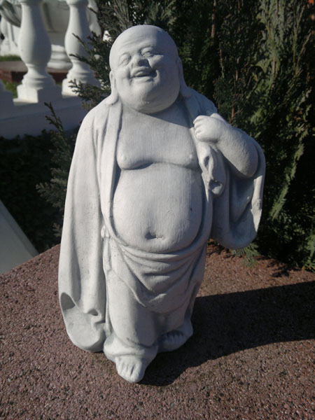 "Stone figure ""happy Buddha"""