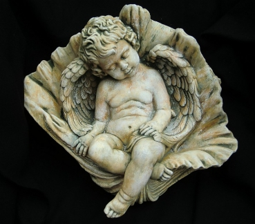 "Stone figure of ""Angels in the Shell"""