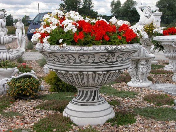 large flower bowl planter 76 cm