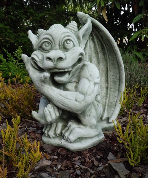 beautiful Gargoyle Mythical Creatures 39 cm high statue