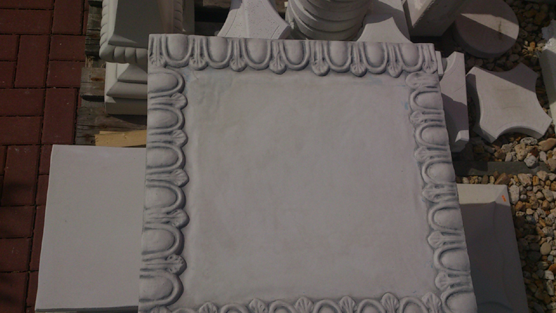 Decorative plate - decorative cover for the plinth, etc.