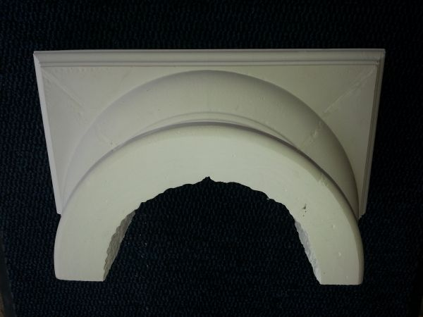 Basic Socket / half shell for column diameter 30 cm