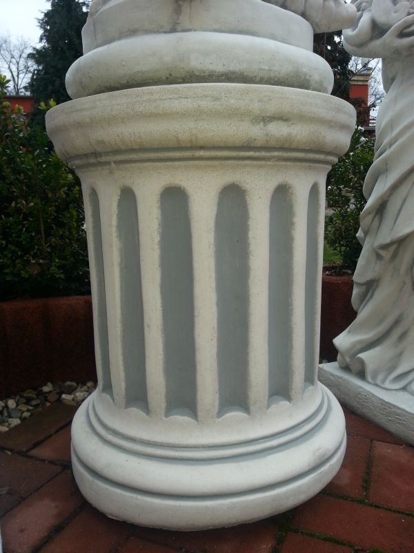 beautiful stone garden statues base for about 58 cm high