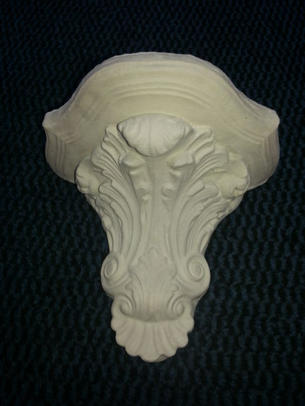 Stuck bracket Wall bracket beautifully decorated 1 Kg