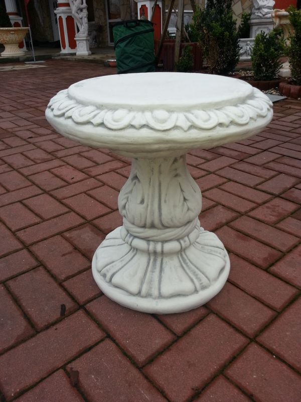 decorative base / stone stool height 44 cm